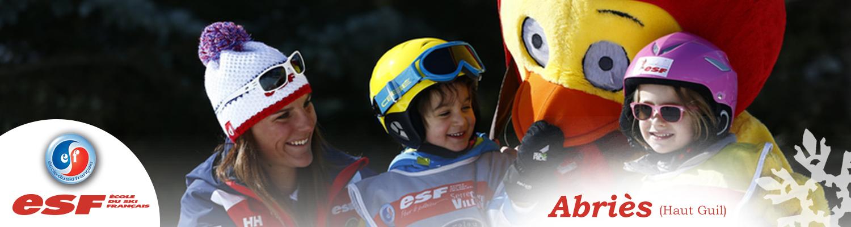 Cours de ski pour petits