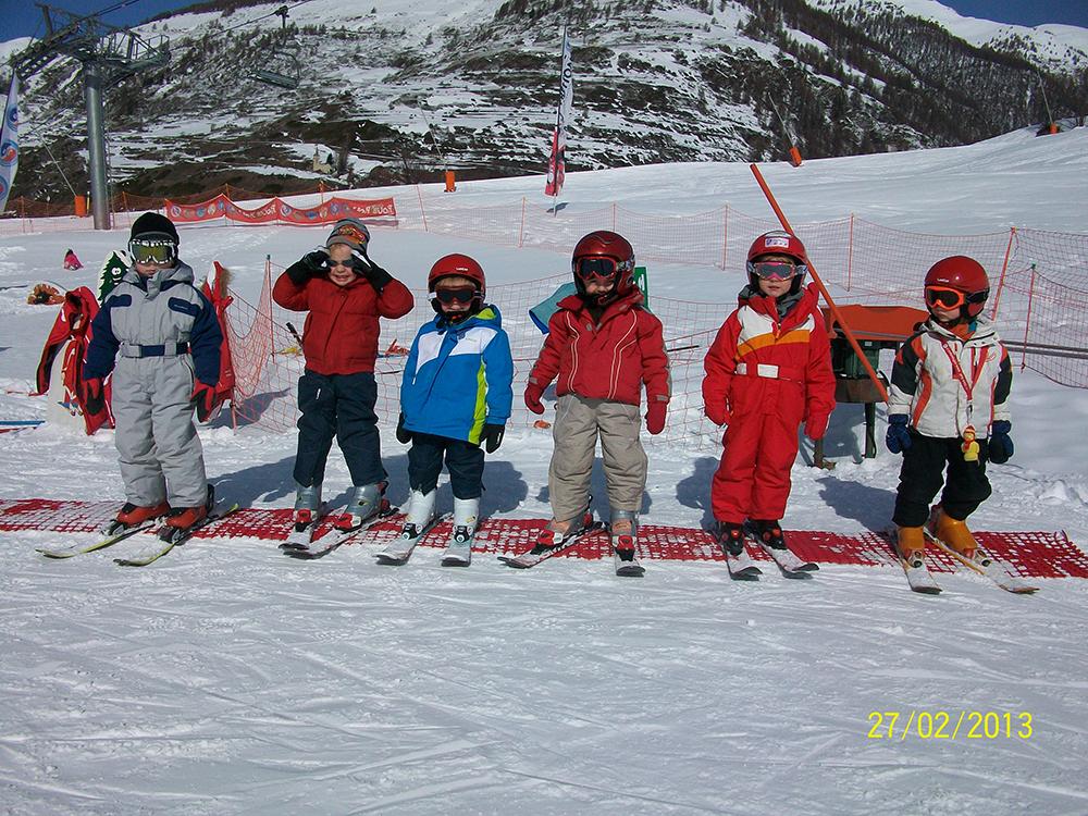 Activités Bébé skieur