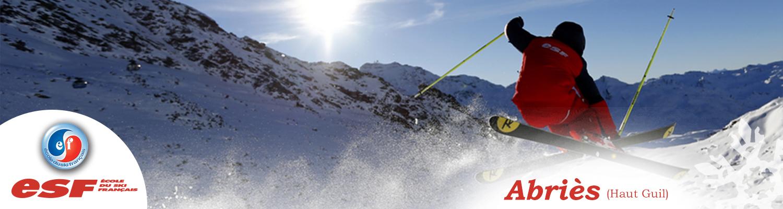 Cours de ski pour enfants/ados