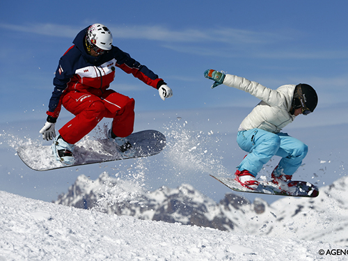 cours particuliers snowboard